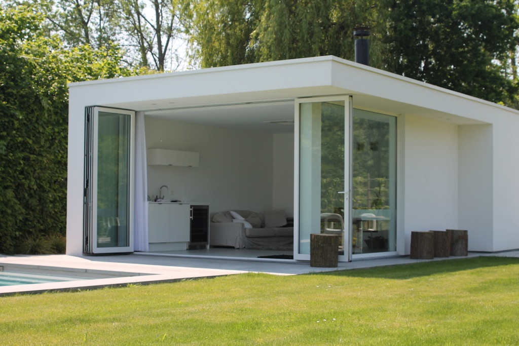Bart Merckx Architectenbureau 187 Poolhouse Te Bornem